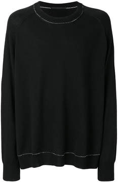 Haider Ackermann stitch detail sweater