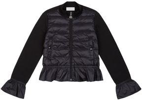 Moncler Peplum Hem Lightweight Jacket