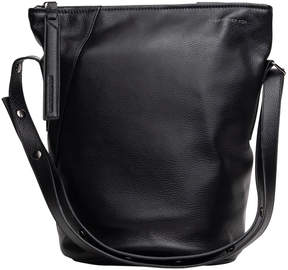 Christopher Kon Black Volta Leather Convertible Tote
