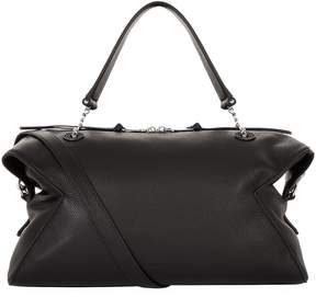 Sandro Grained Leather Shoulder Bag