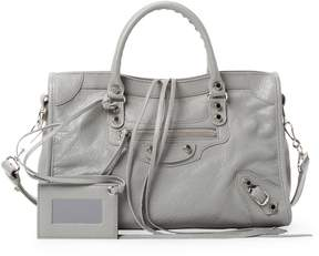 Balenciaga Women's Classic City Small Leather Satchel