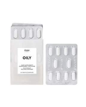 OUAI Haircare Oily Scalp Supplements, 30 Day Supply