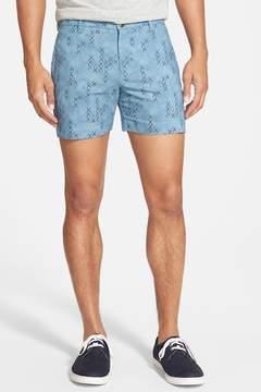 Parke & Ronen 'Holler' Print Shorts