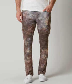 Rock Revival Daviday Moto Slim Straight Jean