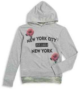 Flowers by Zoe Girl's NYC Rose Hoodie