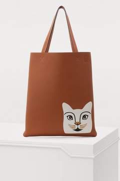Loewe Cat vertical tote bag