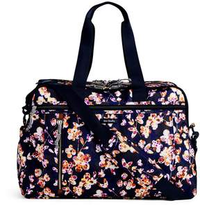 Vera Bradley Lighten Up Weekender Travel Bag - WATER GEO - STYLE