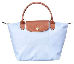 Longchamp Le Pliage Small Nylon Top Handle. - BLUE - STYLE