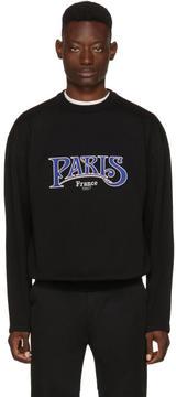 Balenciaga Black Paris France Sweater