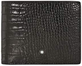 Montblanc Meisterstuck Soft Grain 6 CC Wallet - Mocha