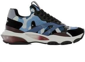 Valentino Men's Qy2s0b15vgify7 Multicolor Fabric Sneakers.