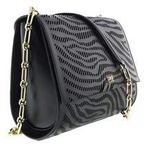 Roberto Cavalli Small Shoulder Bag Audrey 001 Black Shoulder Bag.