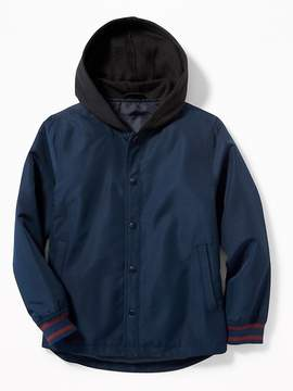 Old Navy Hooded Bomber Jacket for Boys