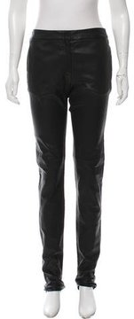 Brock Collection Mid-Rise Straight-Leg Pants