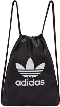adidas Black Trefoil Gym Backpack
