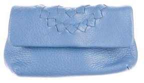 Bottega Veneta Intrecciato-Trimmed Cosmetic Bag