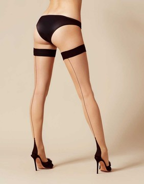 Agent Provocateur Astra Hold Up Black/Champagne