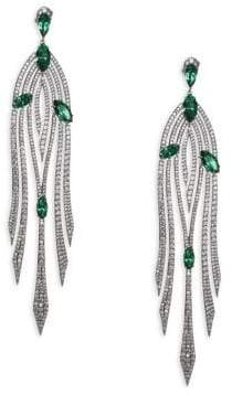 Adriana Orsini Garden Crystal Drop Earrings