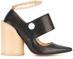 Jacquemus ankle length contrast pumps