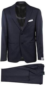 Cantarelli Men's 906323782491103 Blue Wool Suit.
