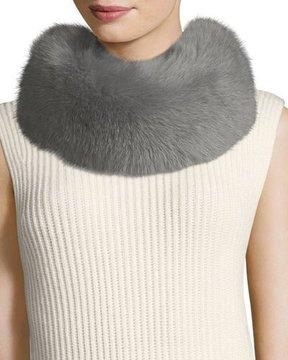 Escada Fox-Fur Collar