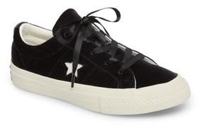 Converse Girl's Chuck Taylor All Star One Star Velvet Platform Sneaker