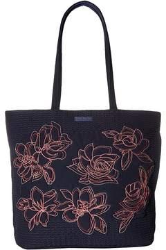 Vera Bradley Iconic Vera Tote Tote Handbags - CLASSIC NAVY 1 - STYLE