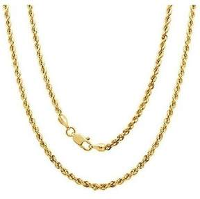 Alpha A A 14kt Yellow Gold Rope Chain, 22