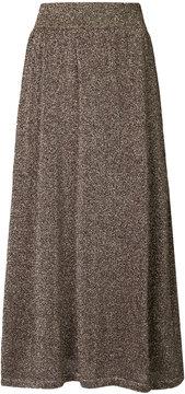 ESTNATION glitter flared skirt