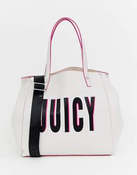 Juicy Couture soft logo tote bag