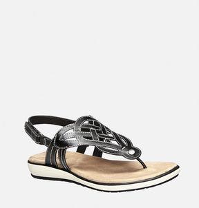 Avenue Tassi Basketweave Thong Sandal