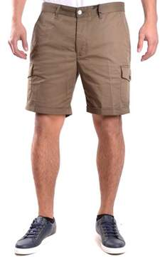 Hydrogen Men's Brown Cotton Shorts.