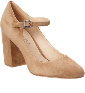 Via Spiga Kid Suede Pump