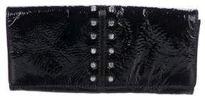 MICHAEL Michael Kors Patent Leather Studded Clutch