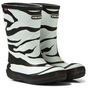 Viking Zebra Classic Indie Rain Boots
