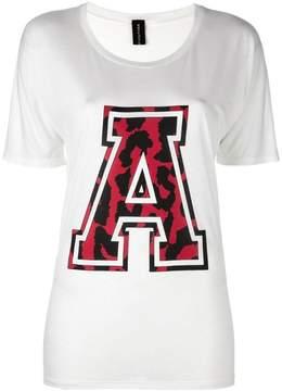 Alexandre Vauthier varsity style T-shirt