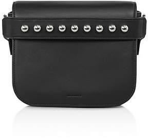 AllSaints Suzi Leather Convertible Clutch