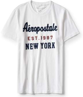 Aeropostale New York Logo Graphic Tee