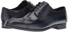 Emporio Armani Cap Toe Medallion Oxford