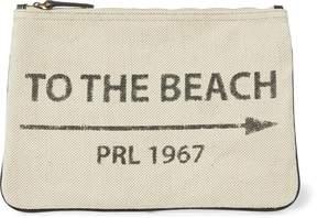 Ralph Lauren To-the-Beach Canvas Pouch