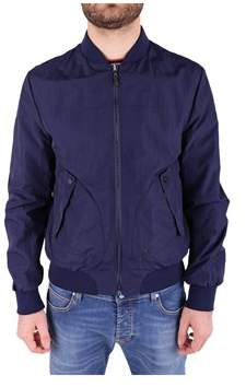 Trussardi Men's Blue Polyester Jacket.