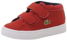 Lacoste Toddler Boy's Straightset Chukka 416 1 Red Sneakers Shoes