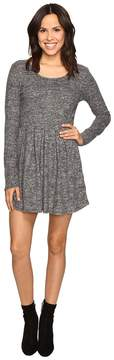 Brigitte Bailey Rebecca Fuzzy Long Sleeve Dress Women's Dress