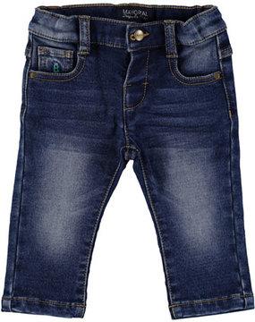 Mayoral Dark Wash Denim Jeans, Size 6-36 Months