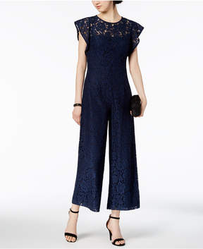 Donna Ricco Lace Jumpsuit