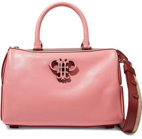 Emilio Pucci Appliquéd Leather Shoulder Bag