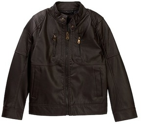 Urban Republic Quilted Moto Jacket (Big Boys)