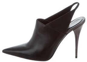 Narciso Rodriguez Pointed-Toe Slingback Booties