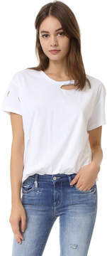 Anine Bing Distressed Tee