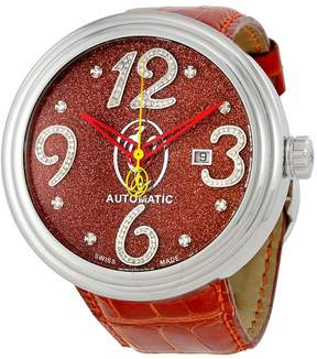 Jacob & co Jacob and Co. Valentin Yudashkin Red Glitter Dial Automatic Men's Watch